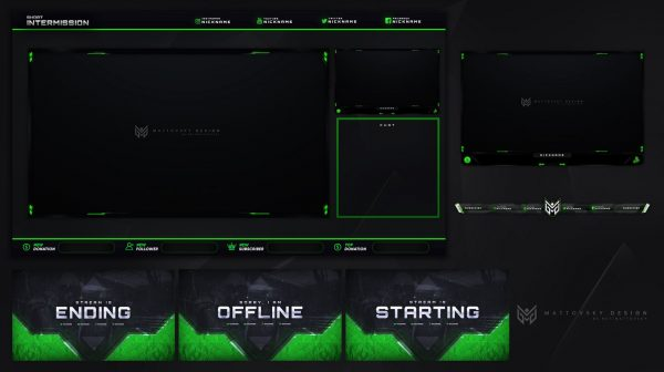 Free CoD WARZONE Stream Overlay Template