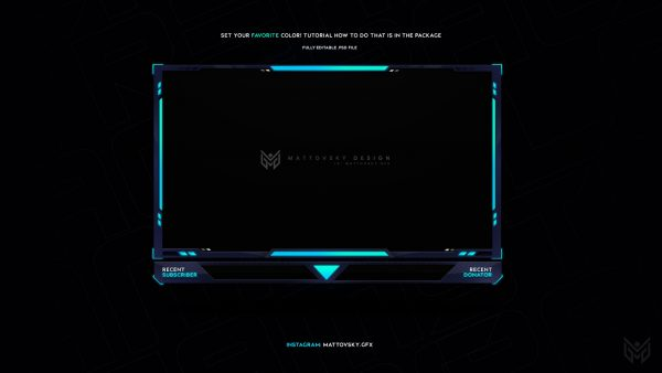 Facecam Overlay for STREAMERS