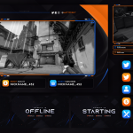 free stream overlay template